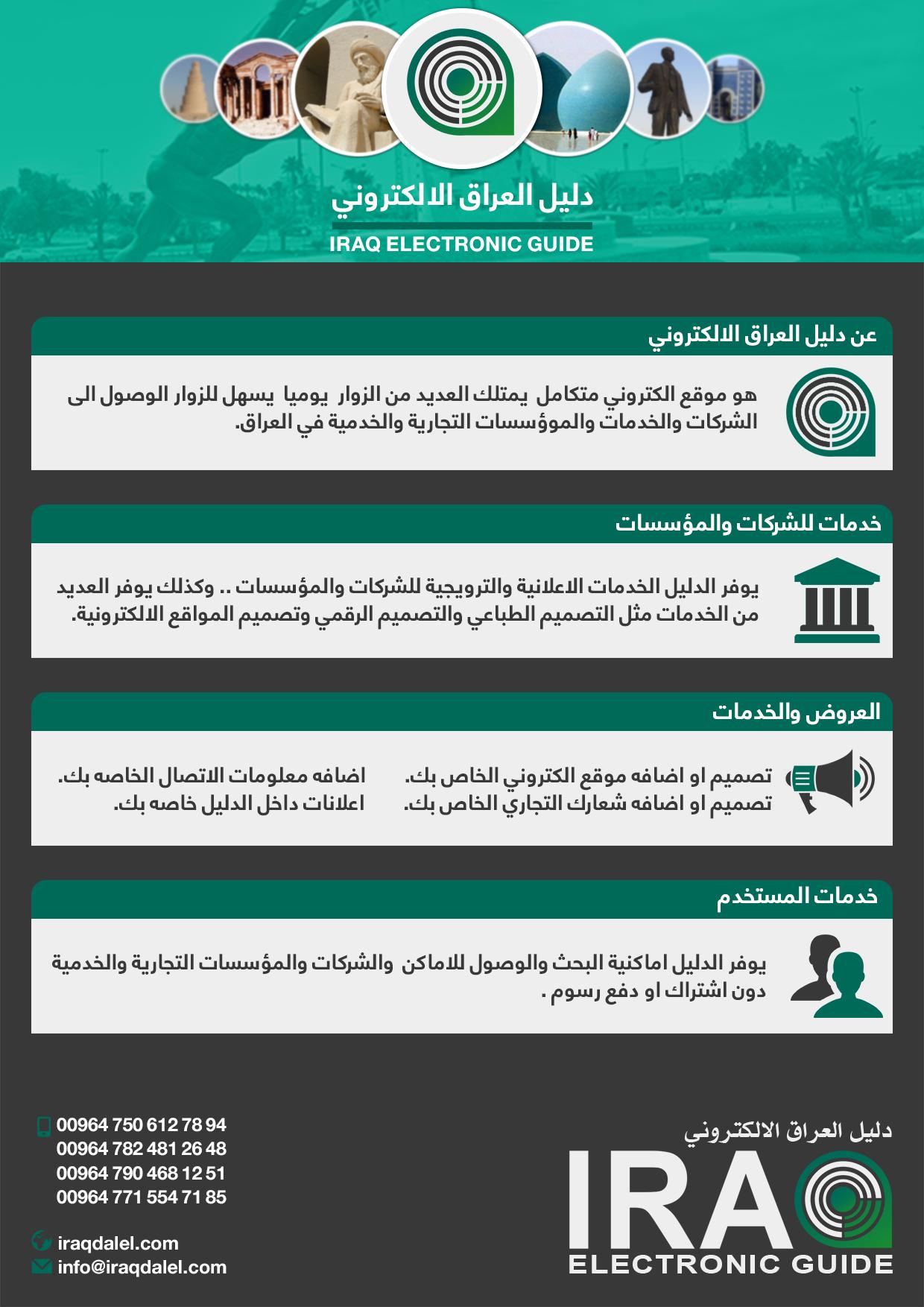 بروشور دليل العراق الالكتروني